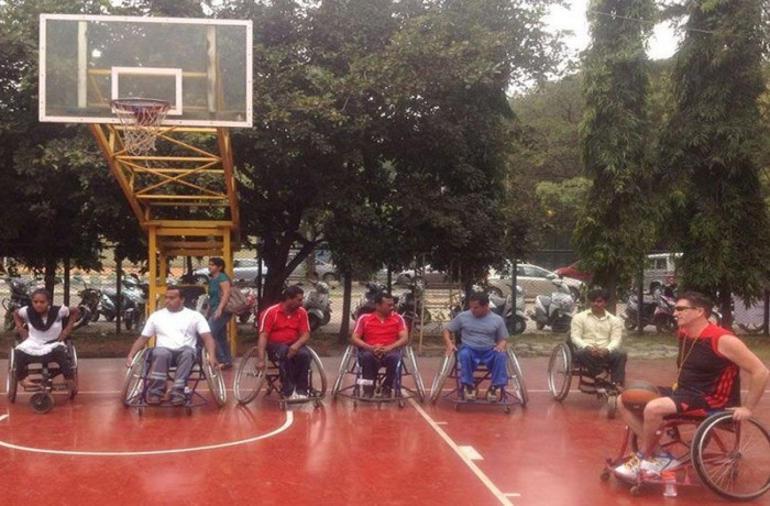 Wheelchair Basketball introductory workshops in Bangalore