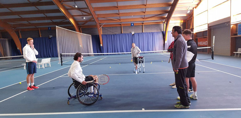 Bromley Wheelchair Tennis Awareness Session