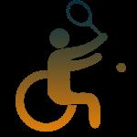 Wheelchair Tennis Icon