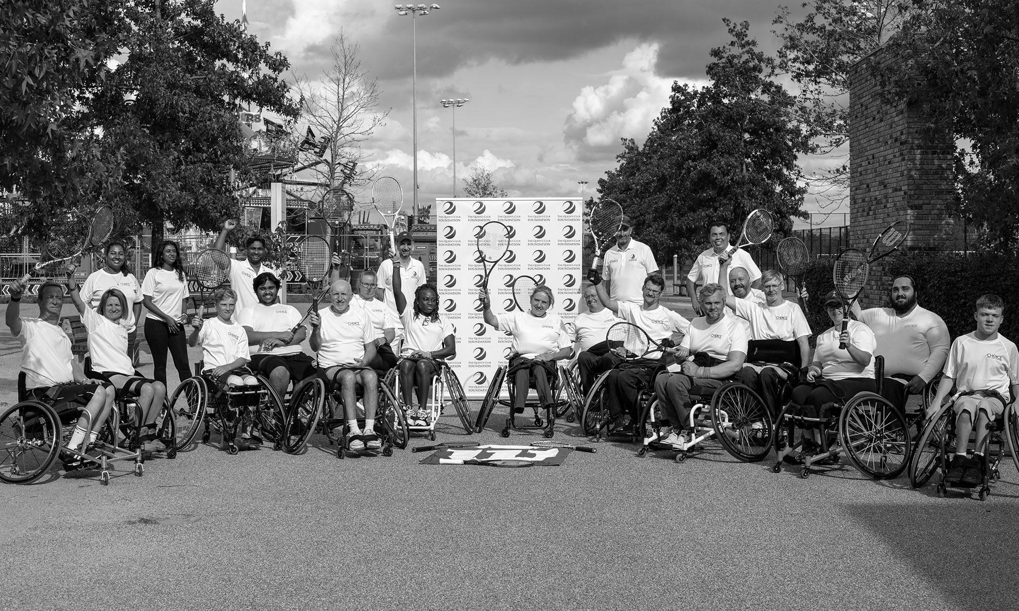 Wheelchair Tennis Camp Image